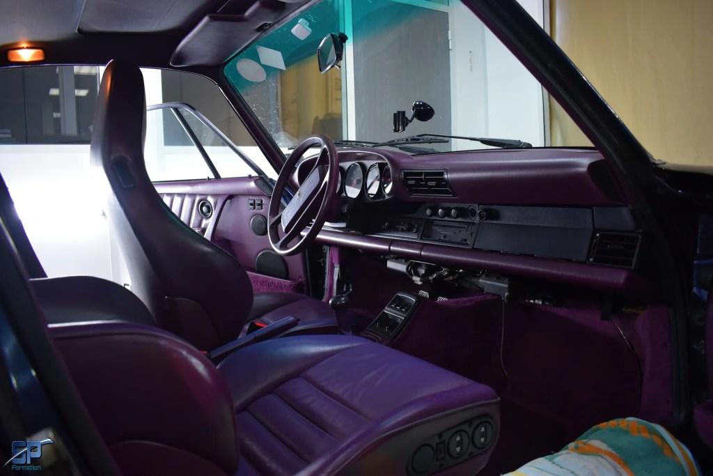 Bien entretenir un cuir violet
