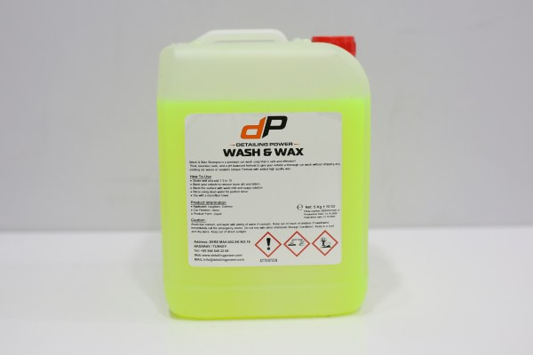 Power Clean Wash & Wax Shampo 5L