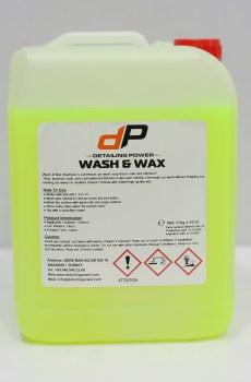 Power Clean Wash & Wax Shampo 5L
