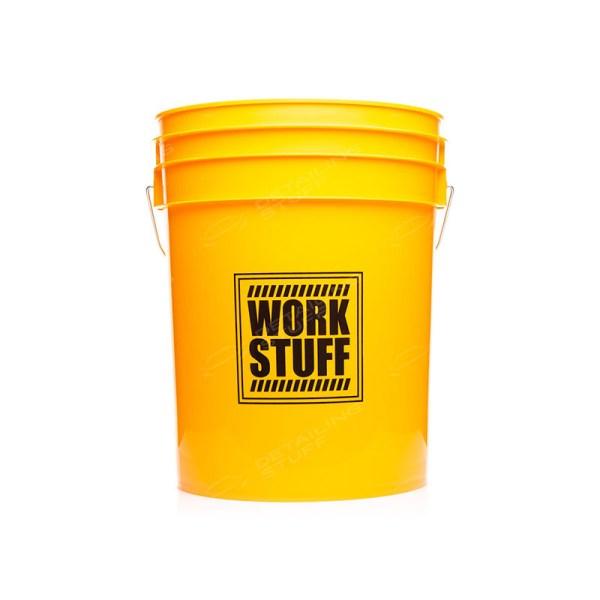 WORK STUFF Detailing Bucket Yellow Wash - wiadro do mycia