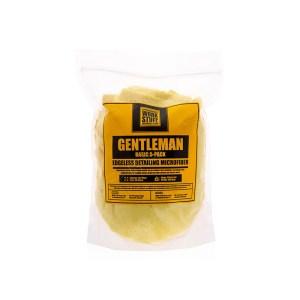 WORK STUFF Gentleman Basic 5 Pack Yellow - zestaw delikatnych mikrofibr bez obszycia