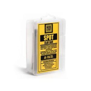 WORK STUFF Spot Clay Bar - średnia glinka do oczyszczania lakieru 100g