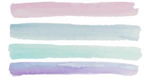 Pink, blue, teal, and purple lines