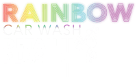 Rainbow Carwash Detail Plus logo white