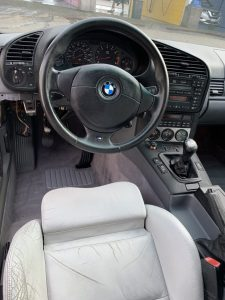 Clean BMW interior at Detail Plus Sunnyvale