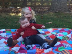 my adorable grandkids