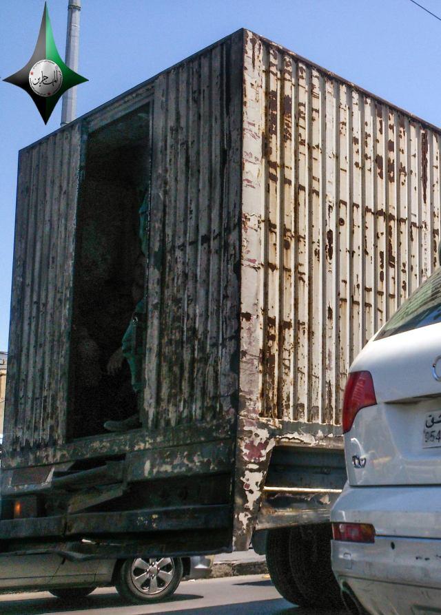 سيارة اللحمة (براد اللحوم): سيارة نقل المعتقلين في سوريا