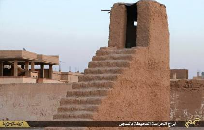 أحد أبراج الحراسة - سجن تدمر العسكري
