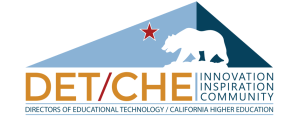 DET-CHE Logo: Inspiration, Innovation, Community