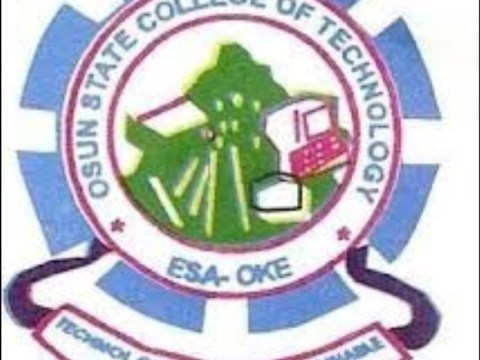 Osun State College of Technology (OSCOTECH) Admission List for 2020/2021