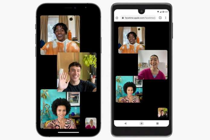 iOS 15-How to Face Time using Android or Windows