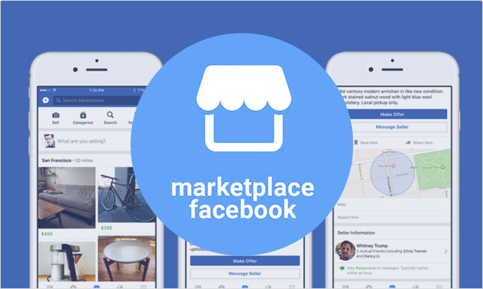 Add marketplace to Facebook
