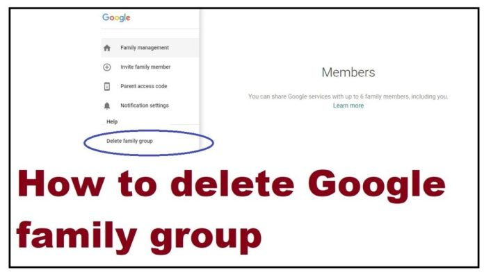 How to Delete your Family.com Account
