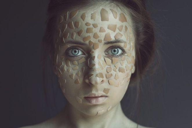 Enchantingly Beautiful Self Portraits by Sasha Oleksiichuk