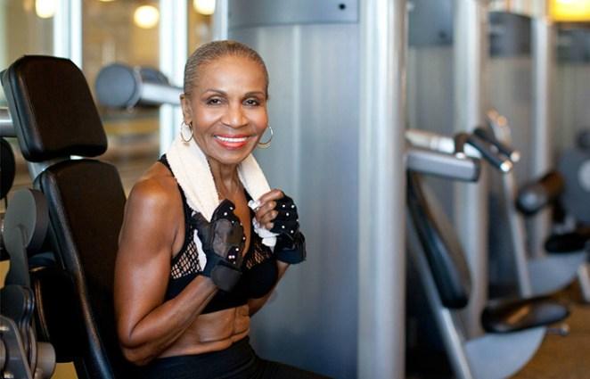 80-year-old Bodybuilder