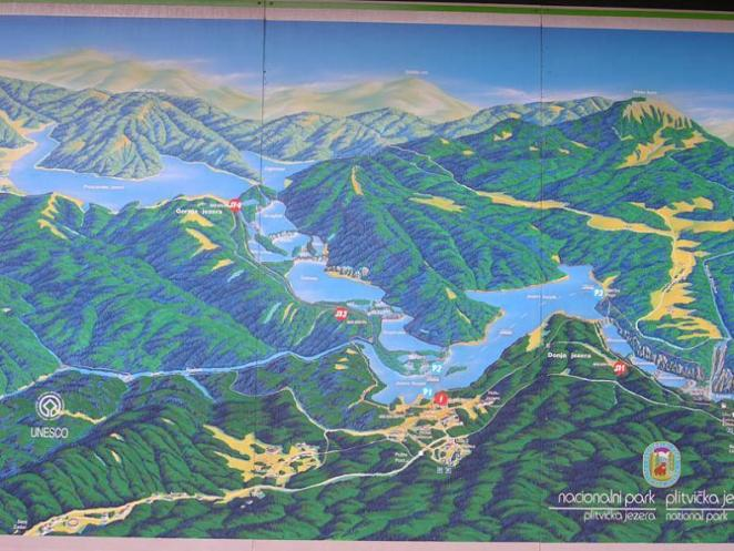 map-guide-to-plitvice-lakes-national-park