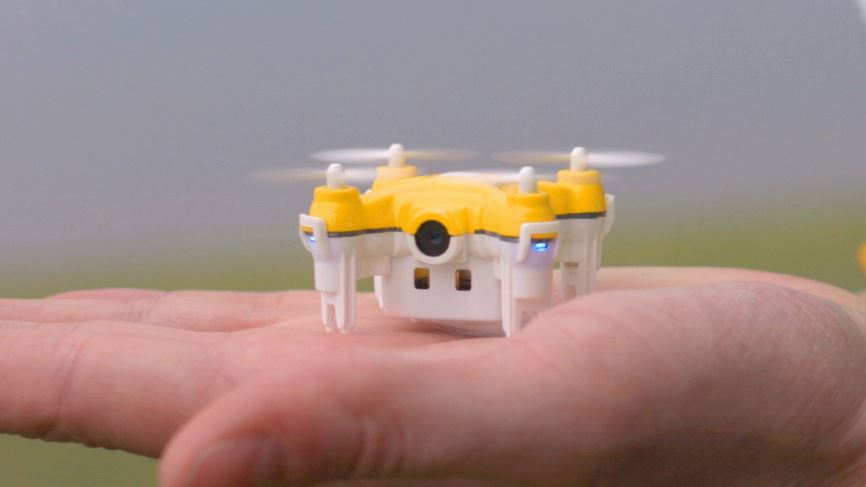 This nano drone will help you catch all Pokemon on the Go