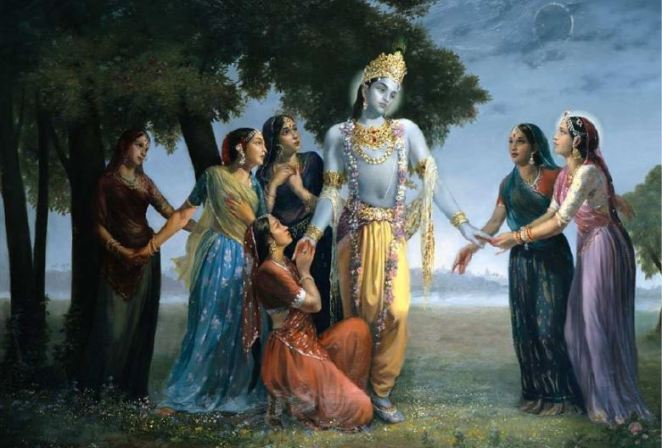 Image result for krishna wives