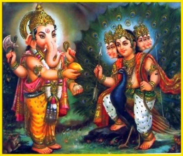 Worshiping of Lord ganesha before the commencement of any good work