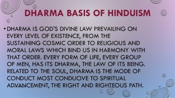 dharma in hinduism