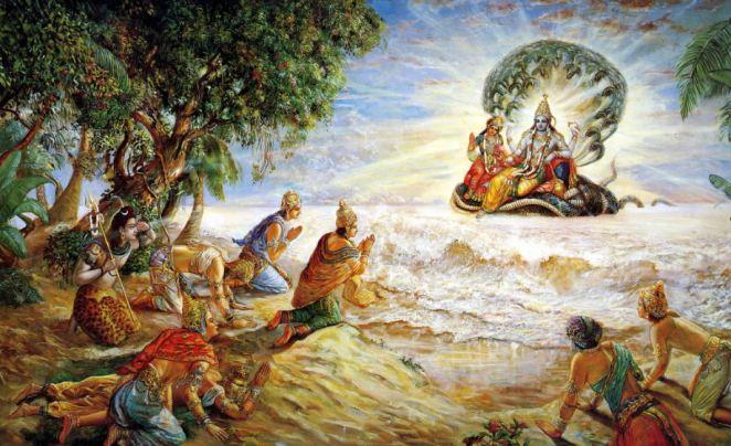 Existence of Lord Krishna - Vaikuntha