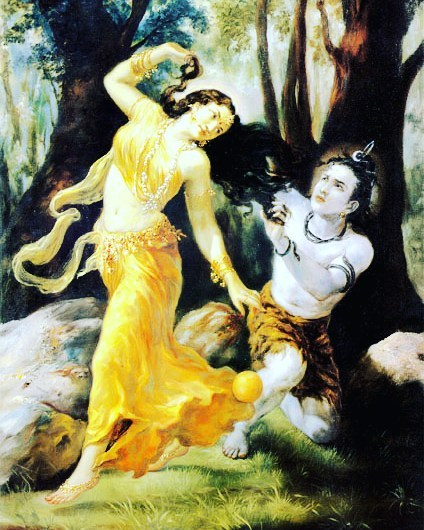 Shiva and Mohini