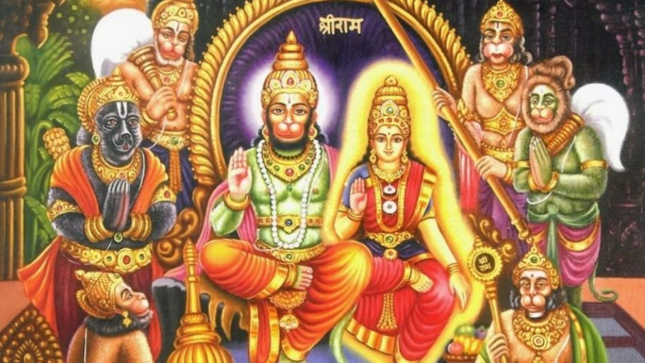 Lord Hanuman and the Mystery of Bermuda Triangle - Based on