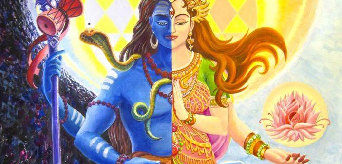 Shiva's androgynous form