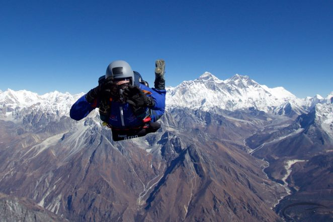 Skydive in Everest