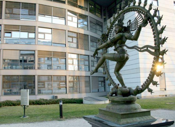 Shiva Nataraja at CERN