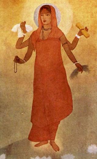 Bharat Mata - Abanindranath Tagore Art