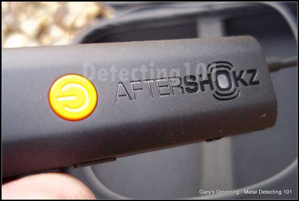 Afyershox on off switch