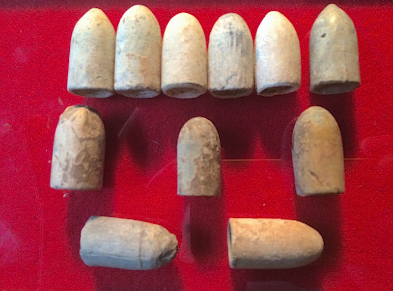 measuring identifying and collecting dug civil war bullets rh detecting365 com Civil War Carved Bullets americana 76 civil war bullet identification guide