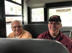 Kevin & Joe on the bus