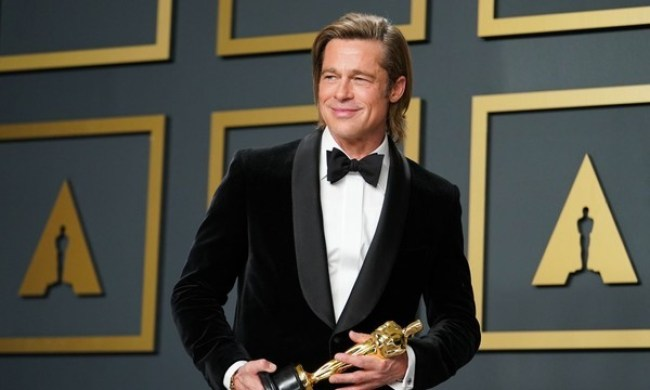 Бред Пітт на Оскар 202