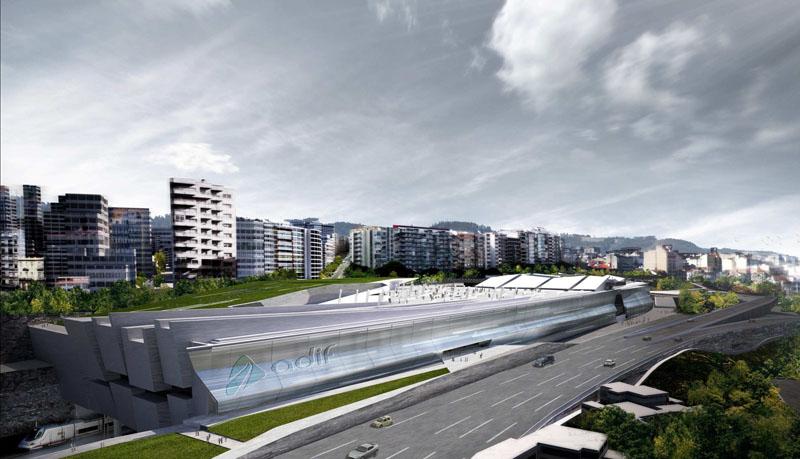 Nueva estación de tren en Vigo (4/6)