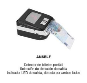 detector billetes portatil Anself