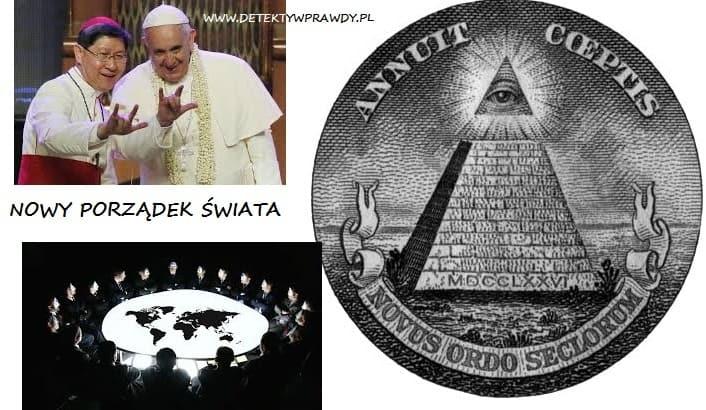 Papież wzywa do utworzenia jednego światowego rządu (NWO), aby ocalić ludzkość.