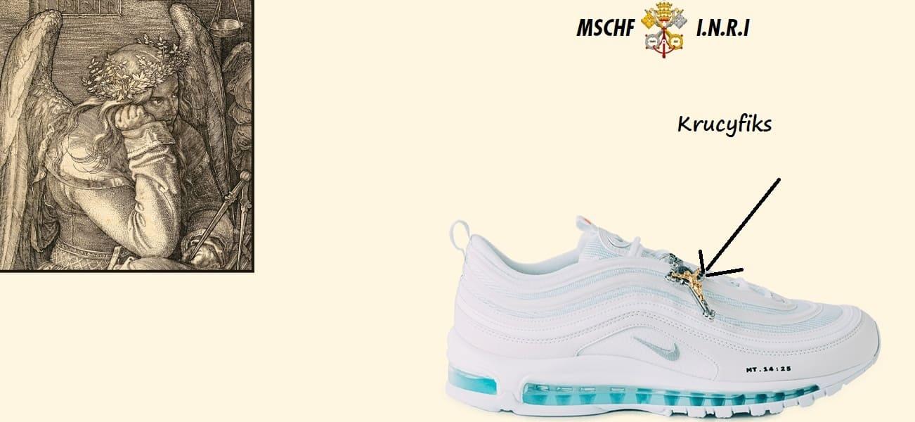 """Stworzyli """"Buty Jezusa"""". Woda święcona w Nike Air Max 97"""