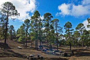 Zone de Barbecue et camping à Chio