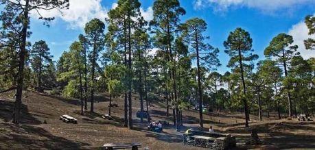 Zone de camping Arenas Negras