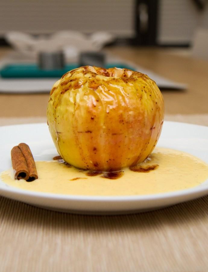Ovnsbakte epler med kanel og honning (sunnere variant)