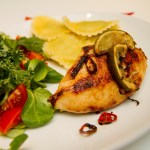 Chili og limestekt kylling med pasta