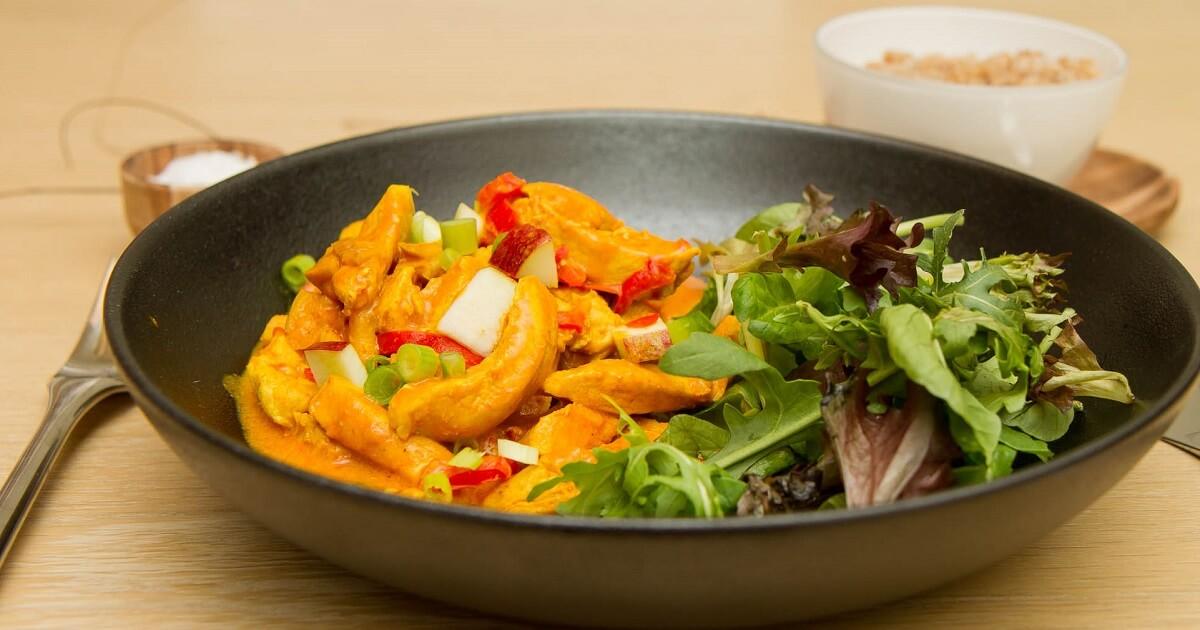 Enkel og god kylling curry