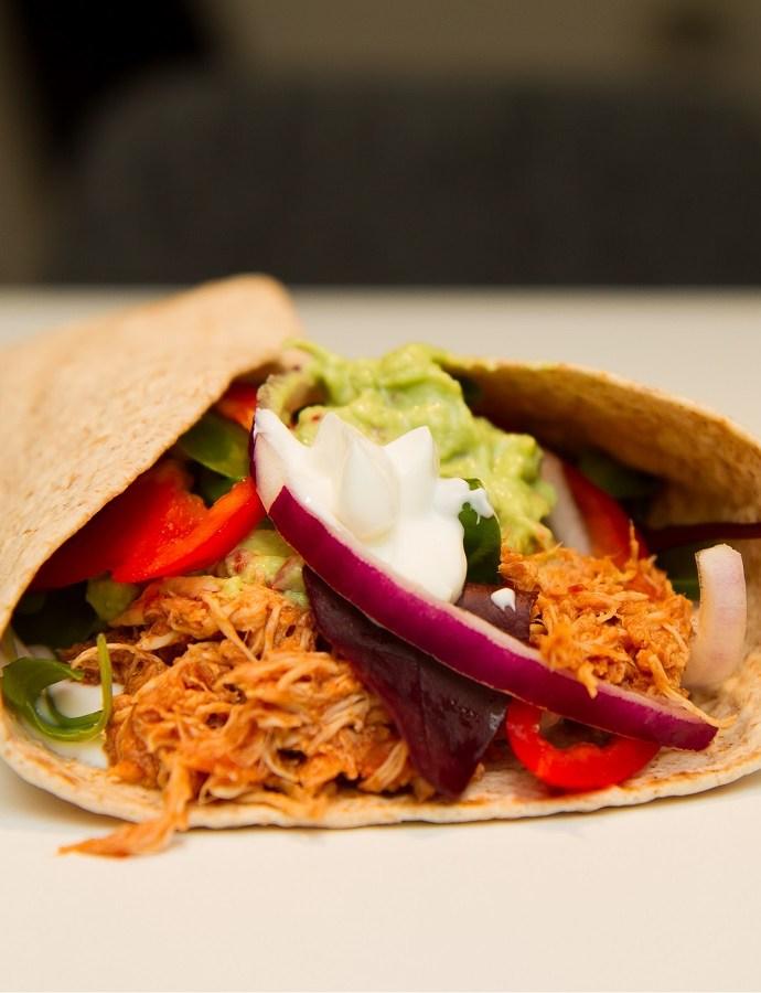 Pulled chicken taco – en ny tacovariant