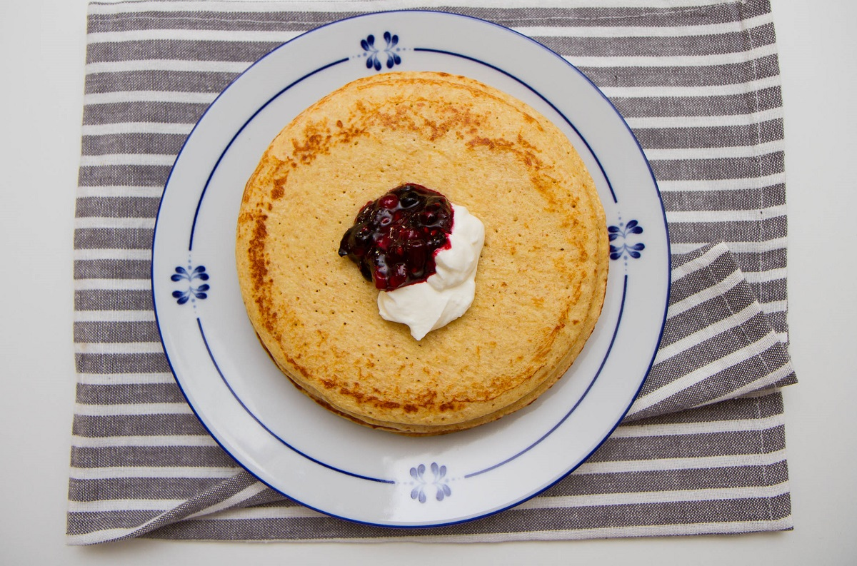 Cottage cheese-pannekaker