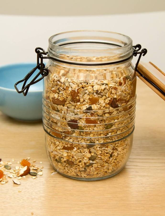 Sunn og lettvint granola
