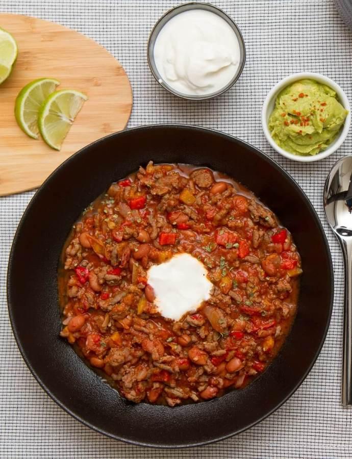 Enkel chili con carne – Perfekt for travle hverdager