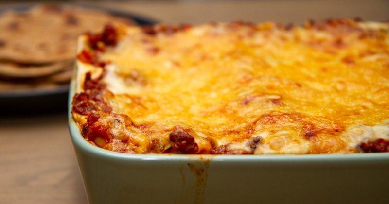 Nystekt lasagne