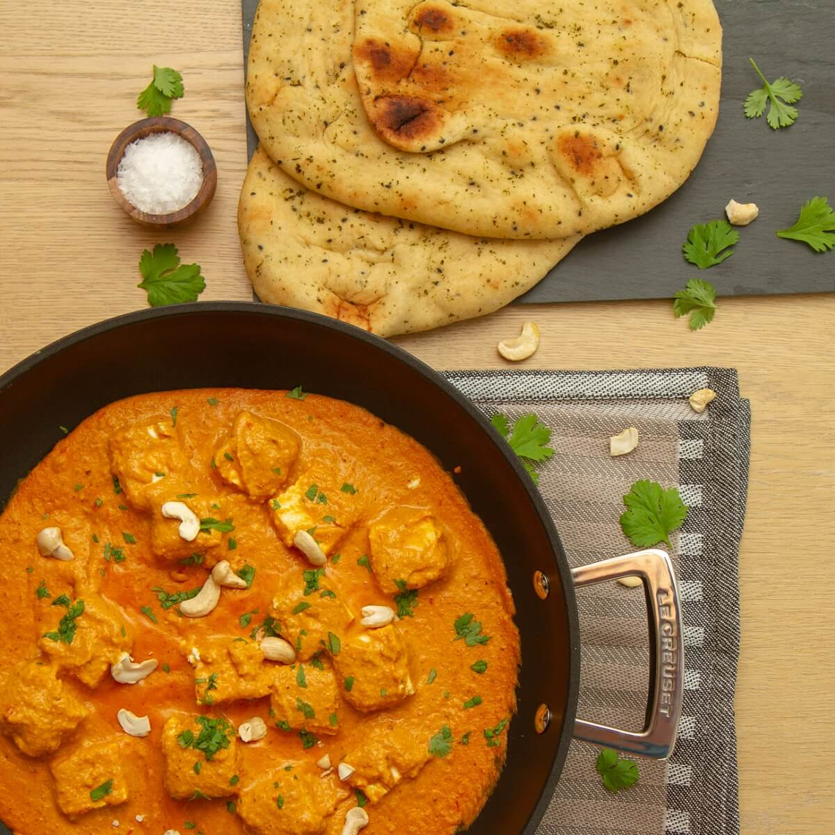 Shahi paneer - Nord-Indisk curry